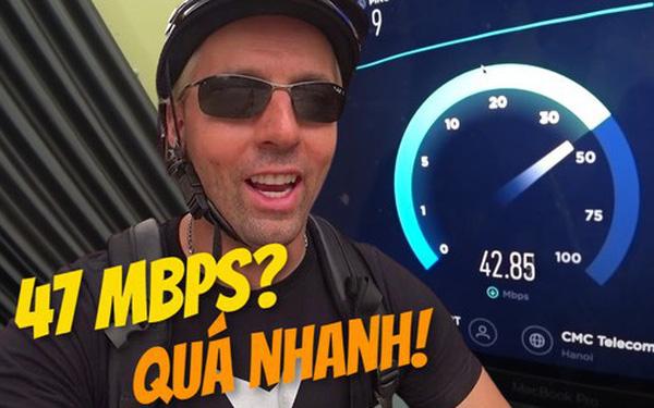 Harald Baldr, YouTuber nổi tiếng thế giới, cảm thấy khá ngạc nhiên về tốc độ Internet Việt Nam